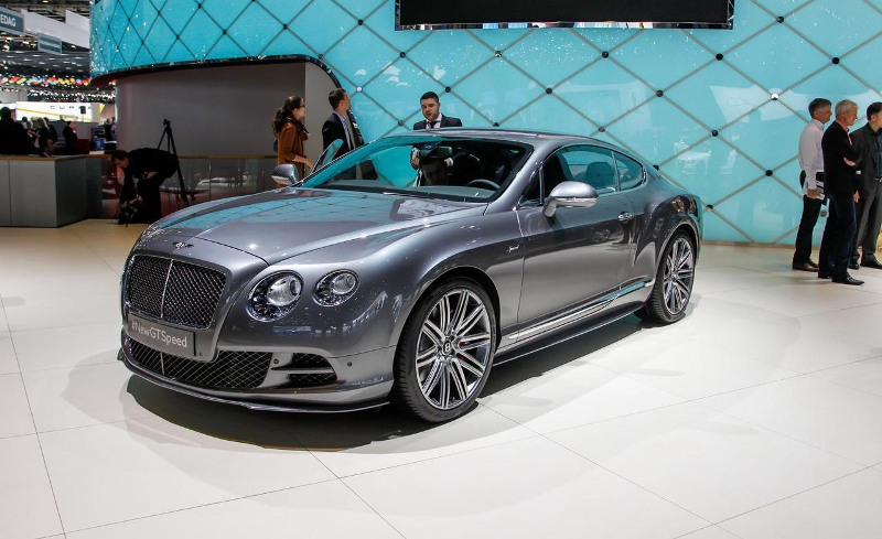 Bentley Continental GT-Coupe 2015