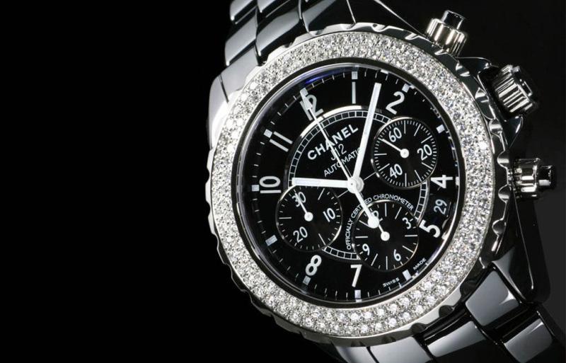 Chanel J12 Black Ceramic Watch