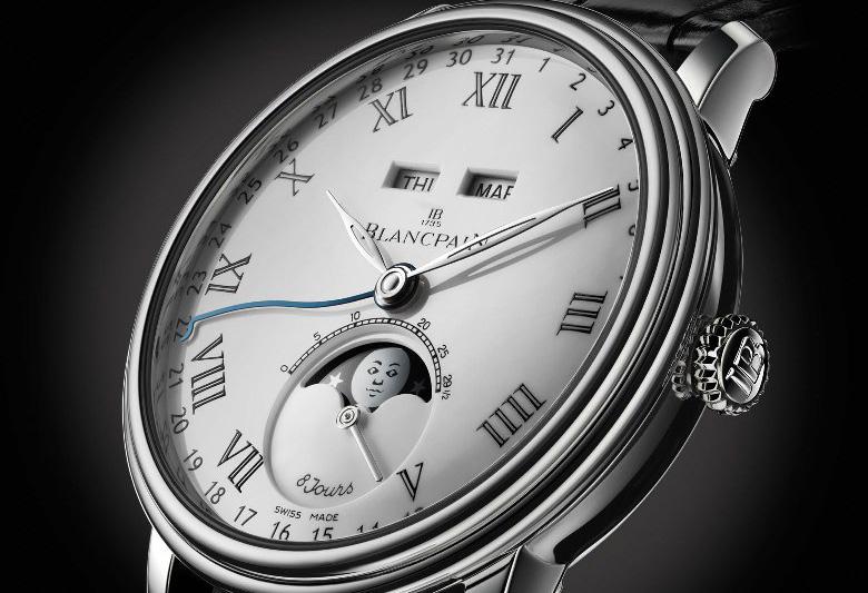 blancpain villeret swiss watches