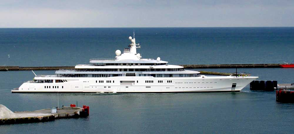 Ten most luxurious yachts in the world