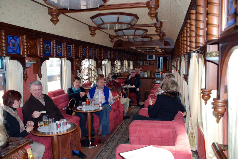 most luxurious trains in the world