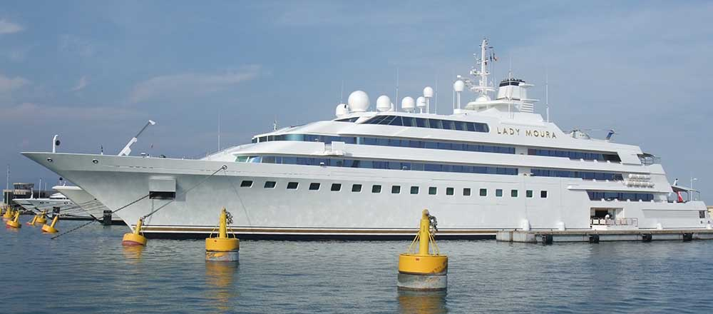 Top ten most expensive yacht in the world