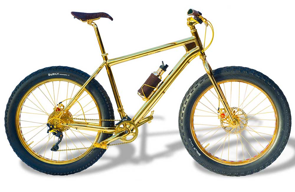 Top ten most expensive bicycles