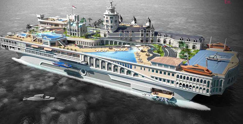 Ranking of top ten most expensive yachts in the world