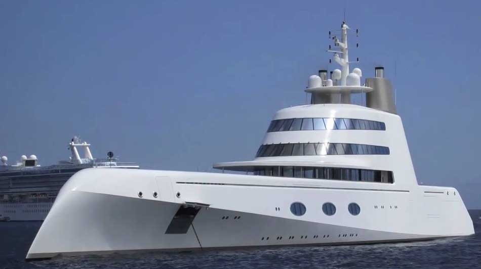 Top ten most luxurious yachts in the world
