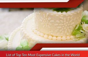 List of Top Ten Most Expensive Cakes in the World