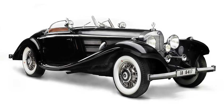 List of Top Ten Most Expensive Auction Cars in the World