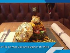 List of Top Ten Most Expensive Burgers In The World