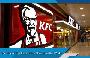 Ranking of Top 10 Best Food Brands in the World