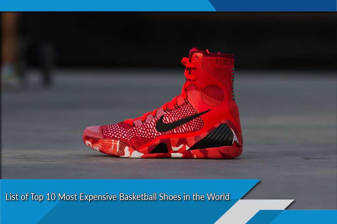 top ten most expensive sneakers