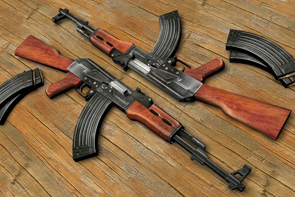 Top Ten Most Powerful Assualt Rifle in the World