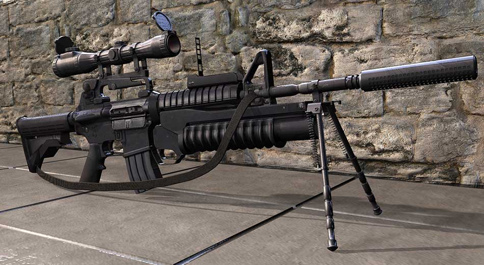 Top 10 Most Powerful Assualt Rifle in the World