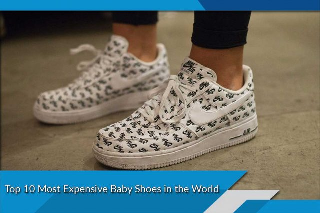 Top 10 Most Expensive Baby Shoes in the World