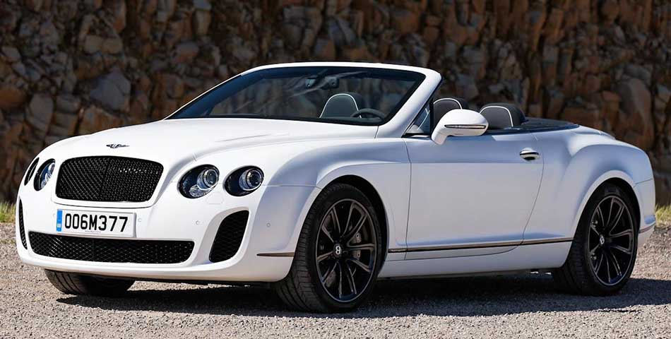 Top Five Most Expensive Bentley Cars in the World