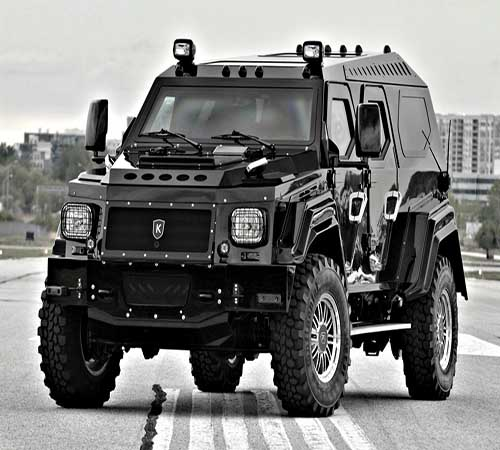 Most Expensive Armoured Vehicles