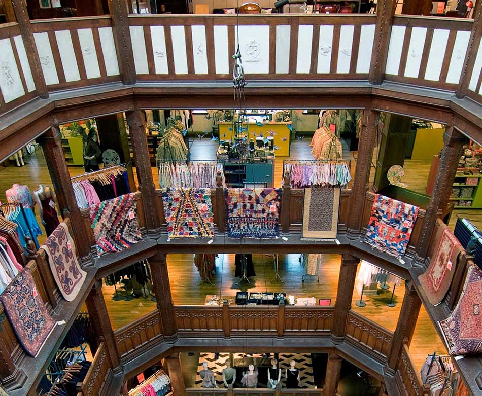 Top Ten Departmental Stores in London for Shopping