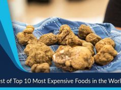 List of Top 10 Most Expensive Foods in the World
