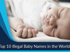 Top 10 Illegal Baby Names in the World