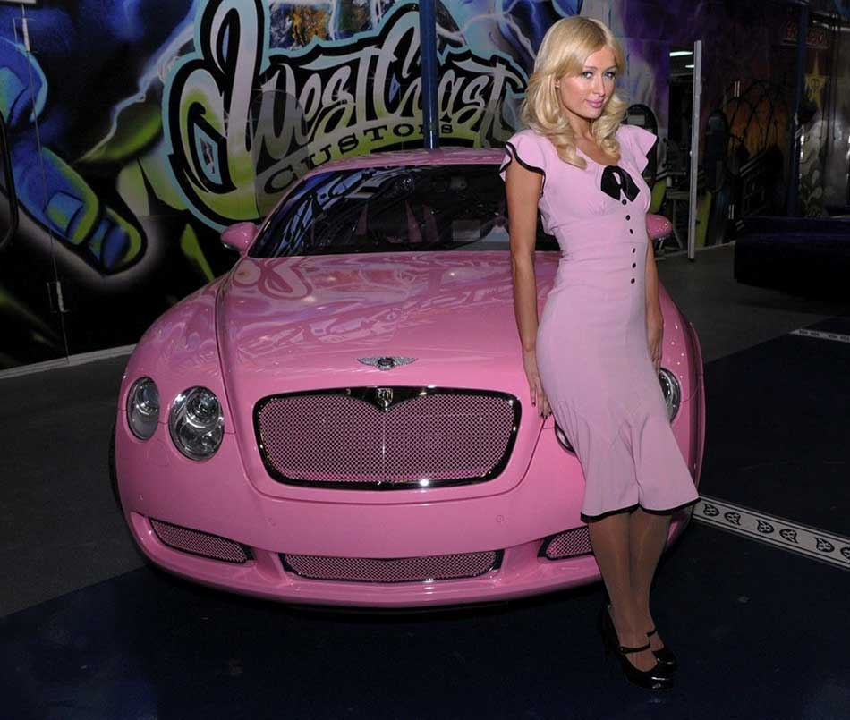 Top Ten Famous Celebrities Who Owned Expensive Sports Cars