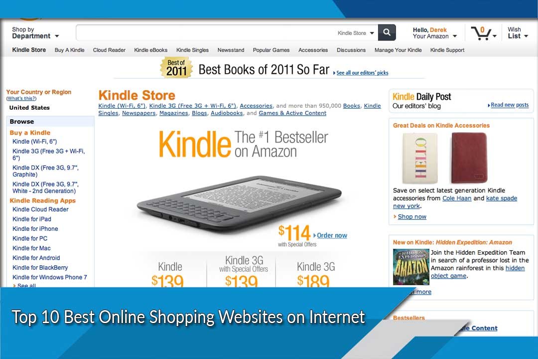 Best Online Shopping Websites List Of Top Ten