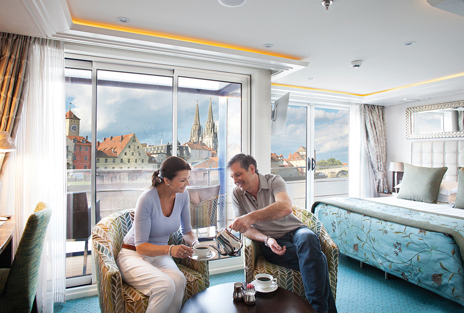 Luxurious Suits of a River Cruise