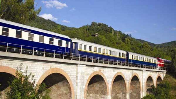 List of Top Ten Luxurious European Train Trips
