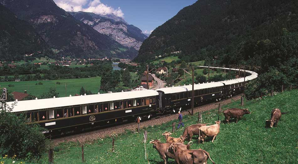 Top Ten Most Luxurious European Train Trips