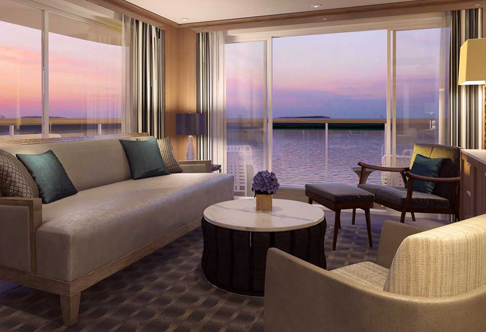 List of Top Ten Luxurious Suits of River Cruise