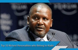 Top 10 Richest Personalities who Belong to Radio