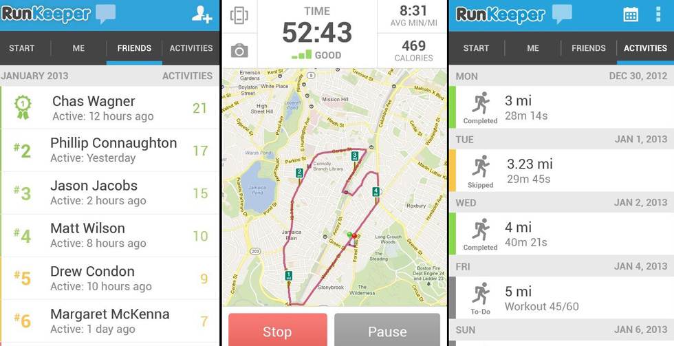 top rated fitness apps in the world