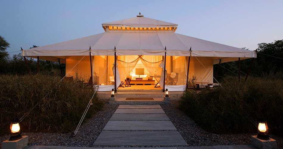 Most Luxurious Glamping Site in the World