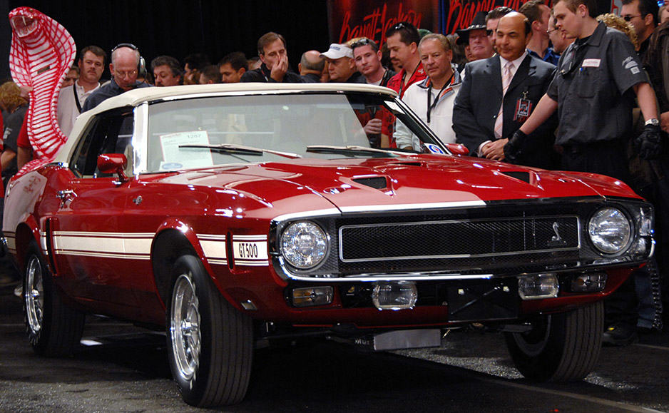 Top 5 Most Expensive Auction Mustangs