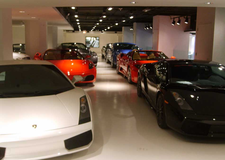 Top Five Most Expensive Car Garages in the World