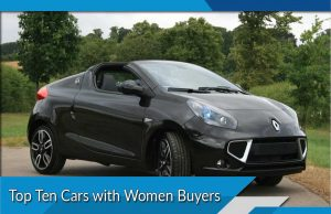 Top Ten Cars with Women Buyers