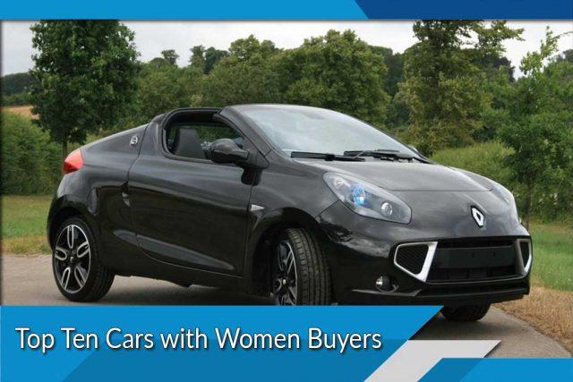 Top Ten Cars with Women Buyers