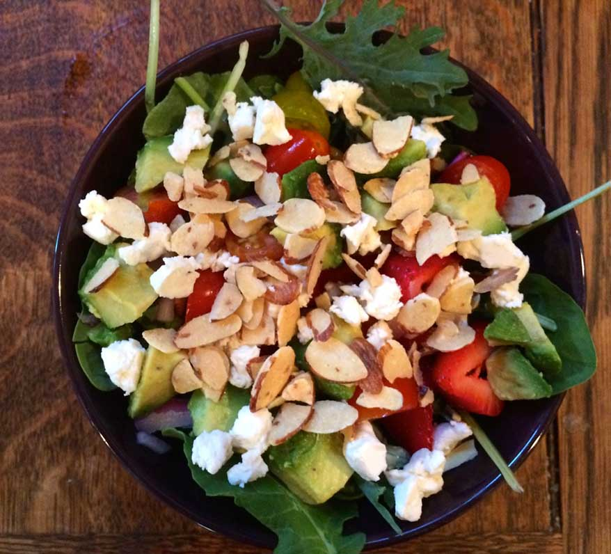 List of Top Ten Salad Ingredients for Weight Loss