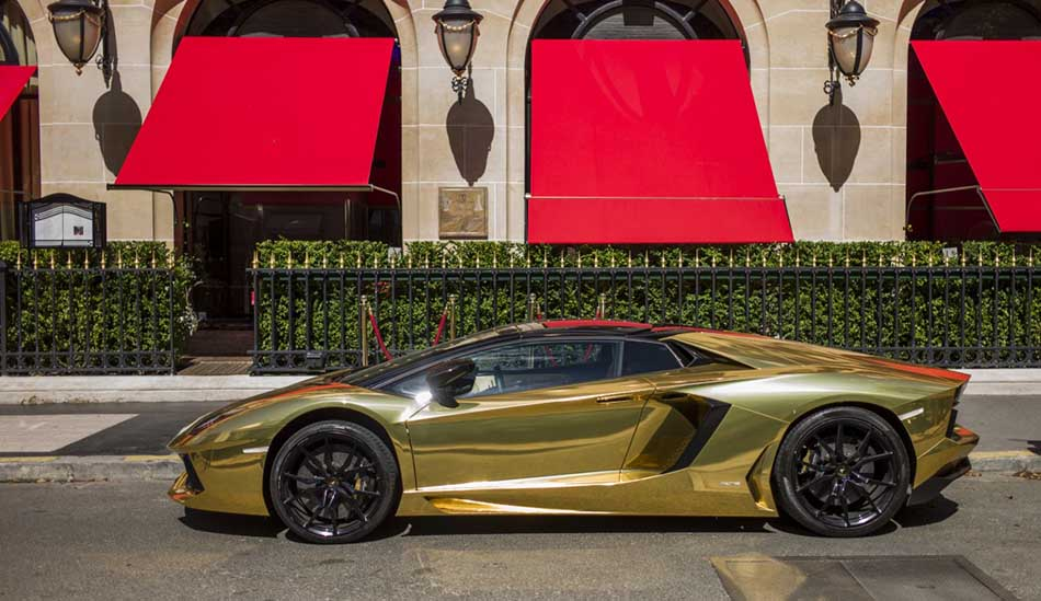 Most Expensive Thing Made of Gold