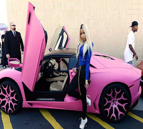 Most Expensive Cars own by Female Celebrities