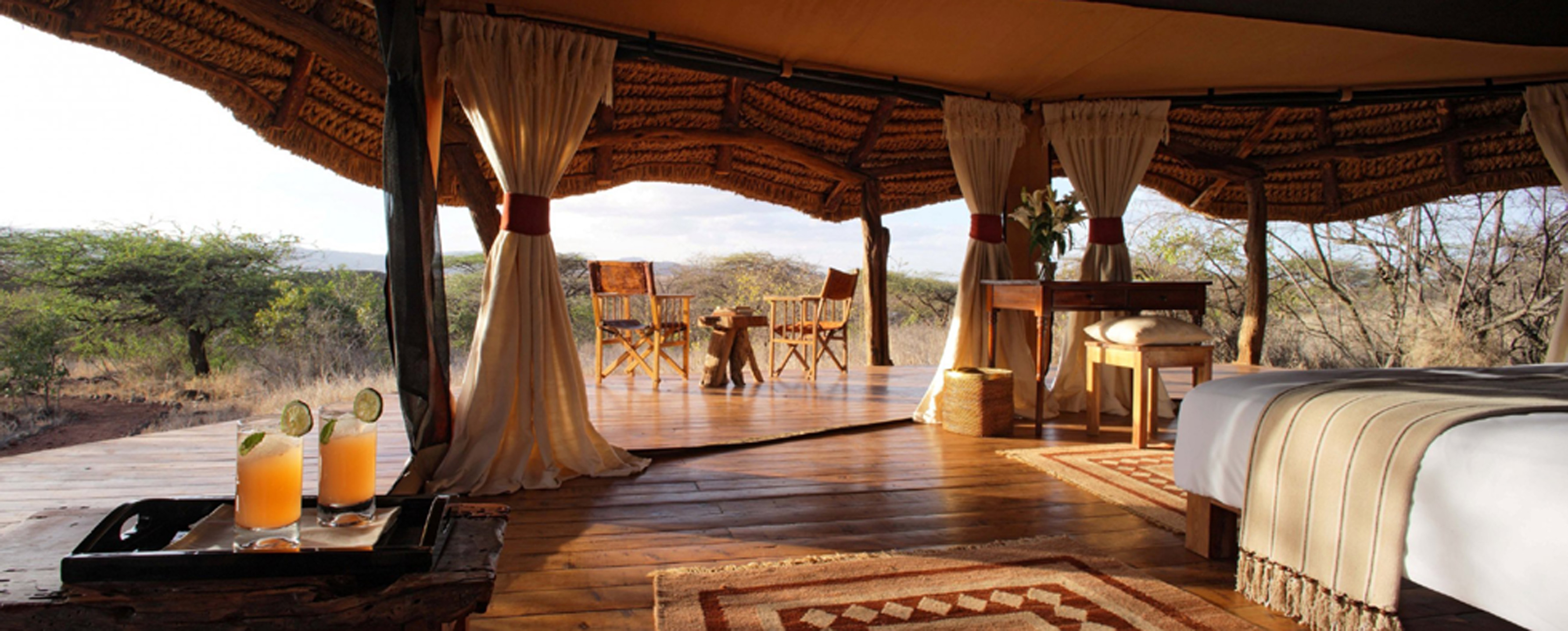 most glamping sites in UK