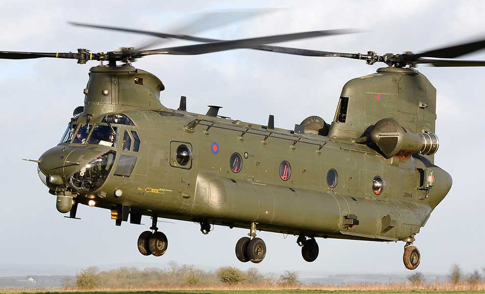 Top Five Best U.S Military Helicopters