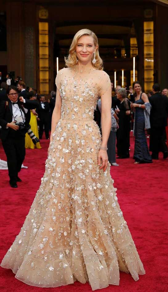 Top Ten Most Expensive Dresses Worn by Celebrities at the Academy Awards
