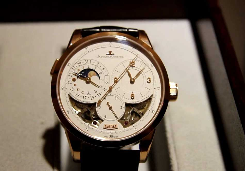 List of Top Ten Most Expensive Jaeger Lecoultre Watches