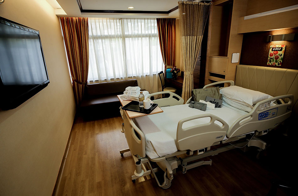Top Five Most Luxurious Hospitals Rooms in the World