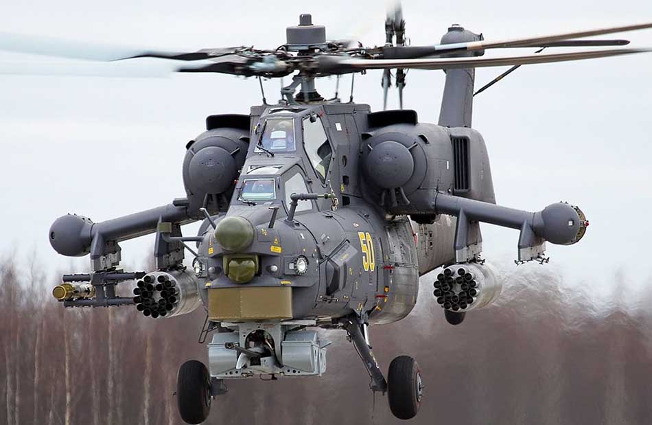 Top Three Best Military Helicopters in the World