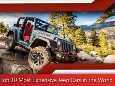 Top 10 Most Expensive Jeep Cars in the World