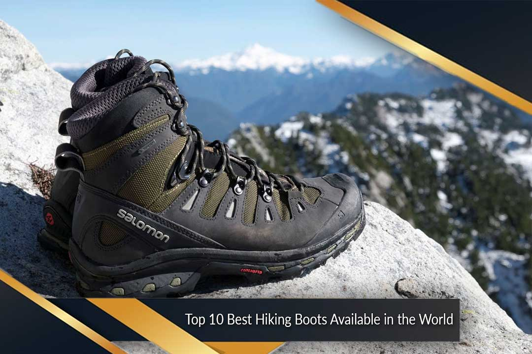 Best Hiking Boots Available in the