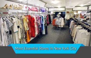 Most Essential Stores In New York City