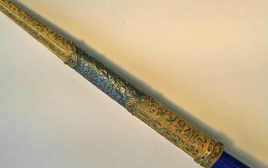 qianlong imperial hunting knife