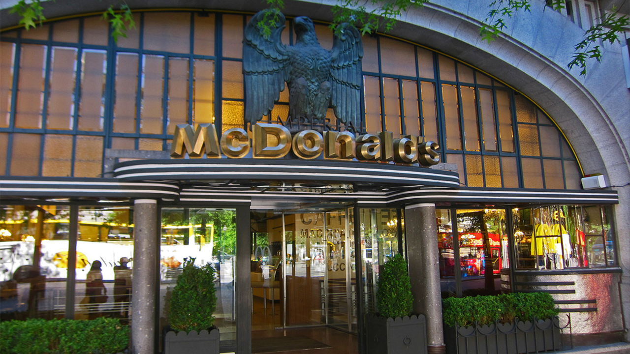 Unique Locations Of McDonalds HIghly Rated