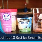 List of Top 10 Best Ice Cream Brands